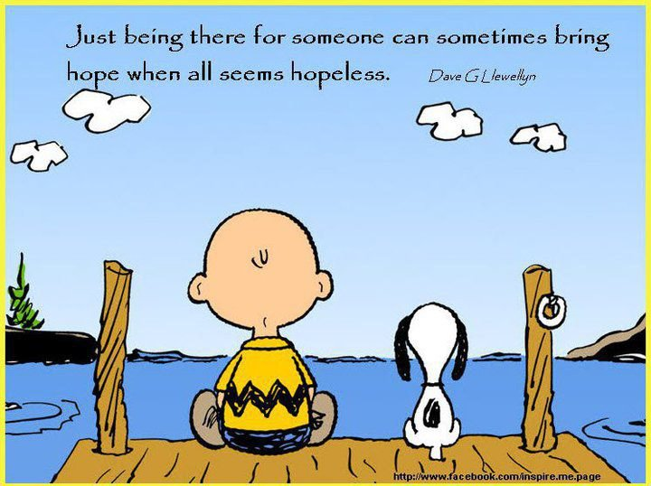 Image result for be there for someone