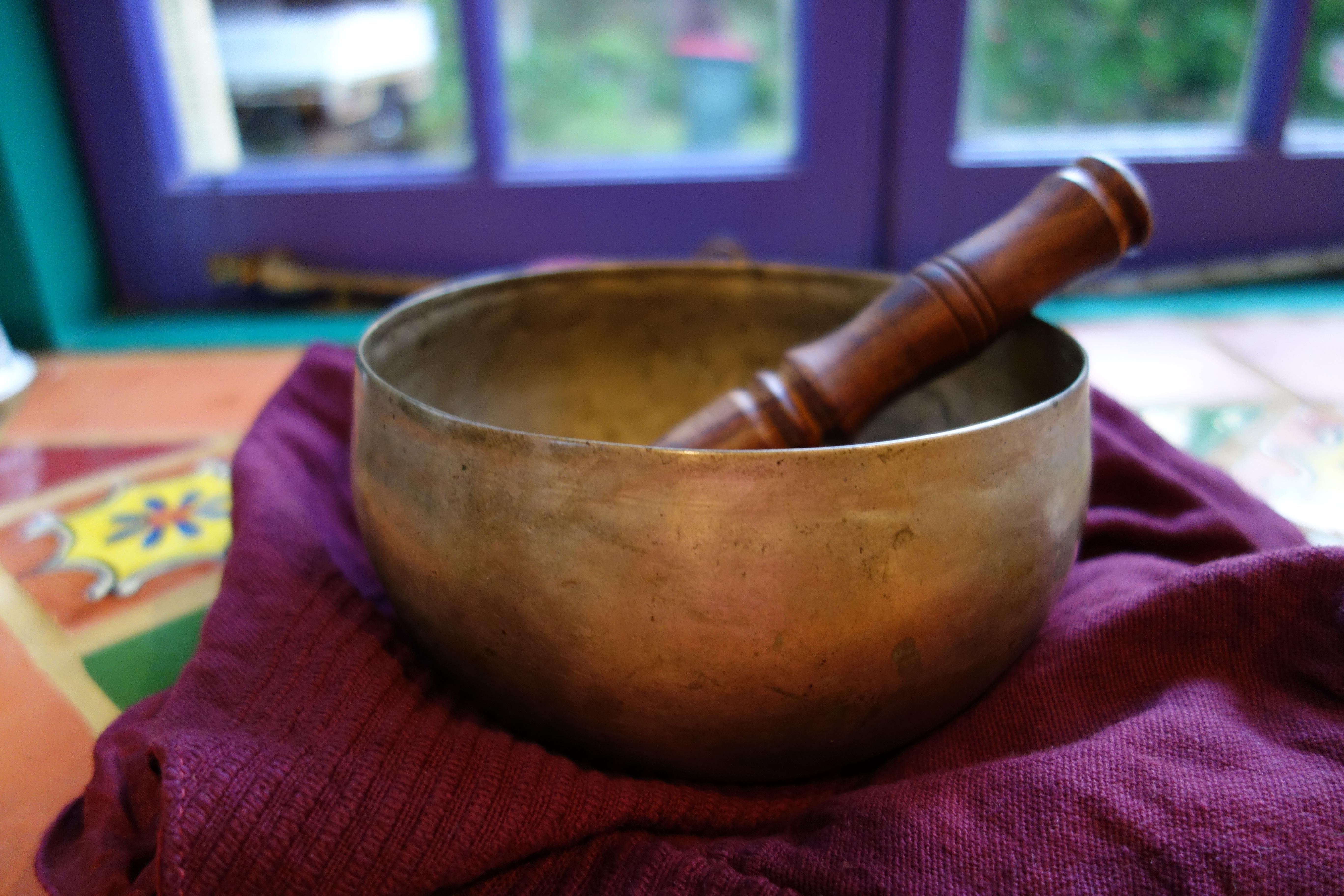 Nicole Cody Tibetan Singing Bowl