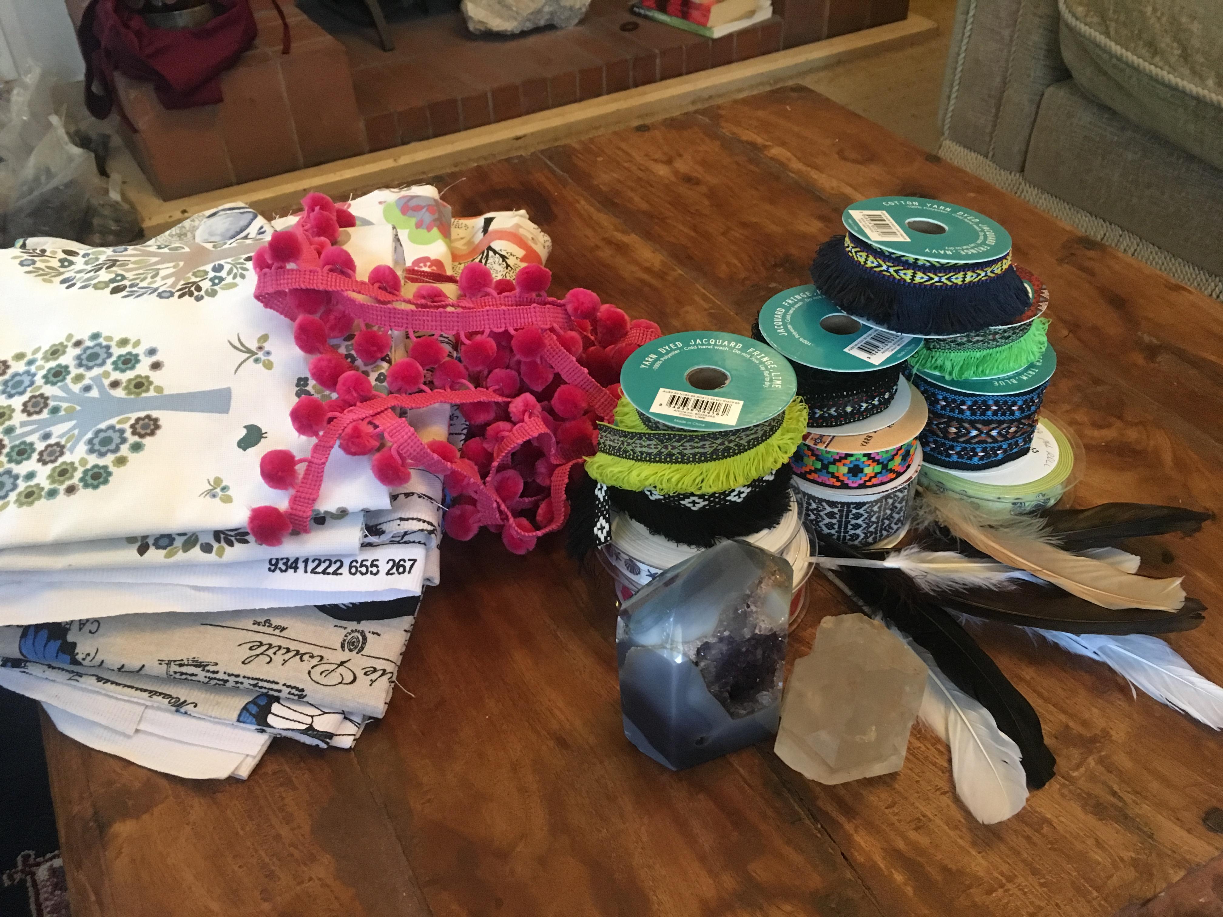 Medicine Bag workshop Nicole Cody