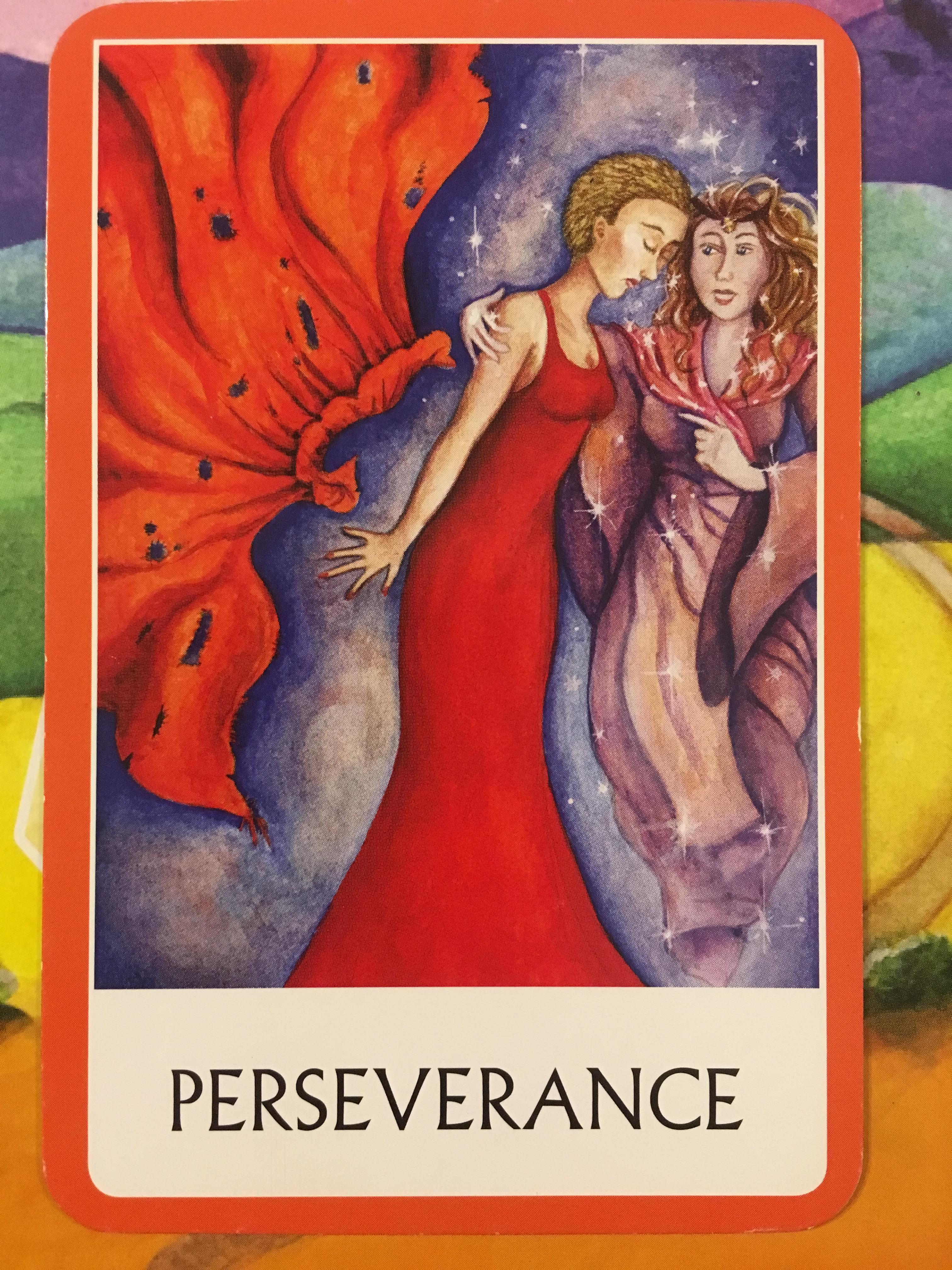 perseverance chakra oracle