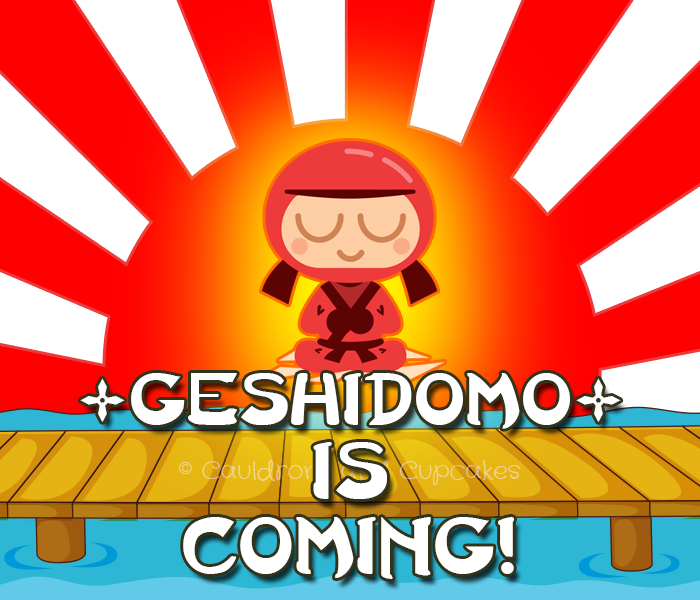It's almost #GeSHiDoMo time!
