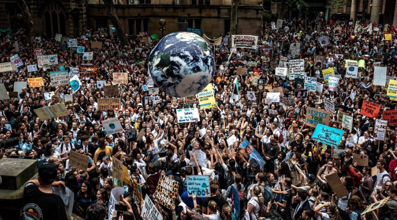 To All The School Children Who Have Gone On Strike For Climate Change Action