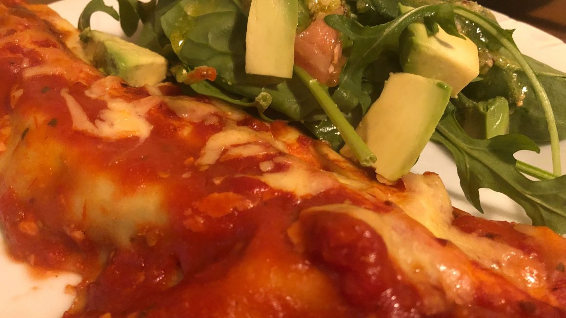 Easy Spinach and Cheese Cannelloni Recipe