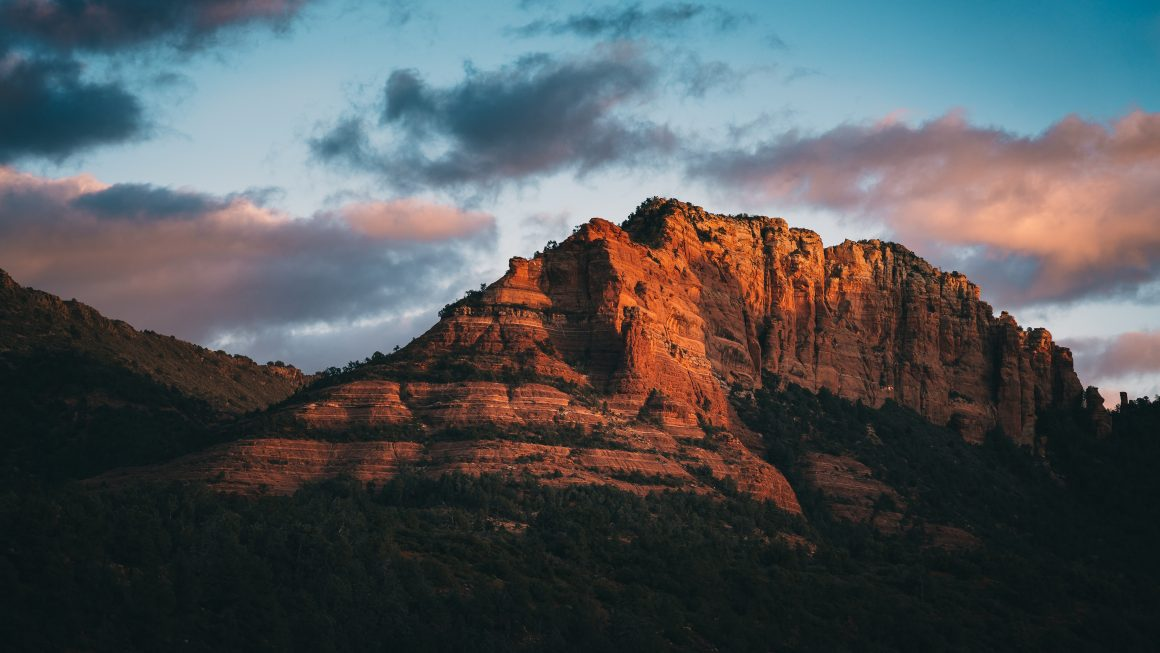 It was because of Sedona