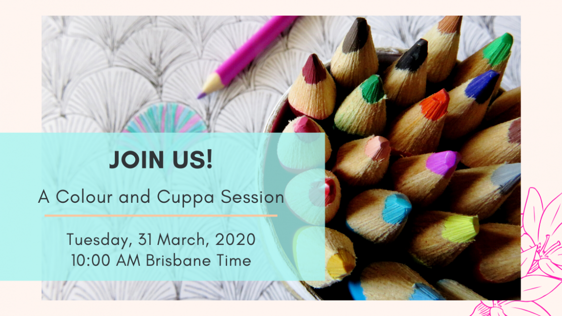 Join Me For A Magical Online Colour And Cuppa Session ❤