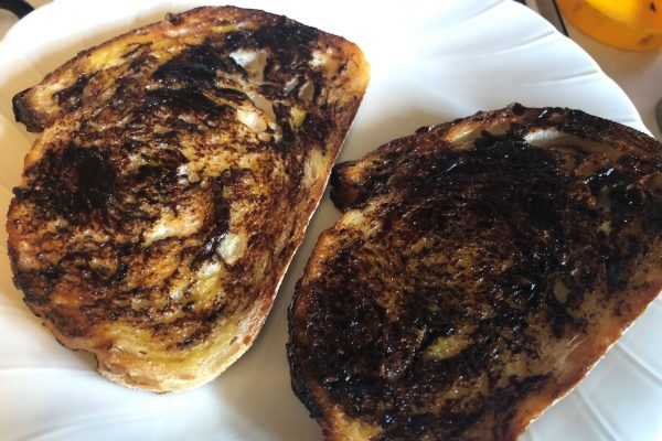 How To Make Vegemite Toast