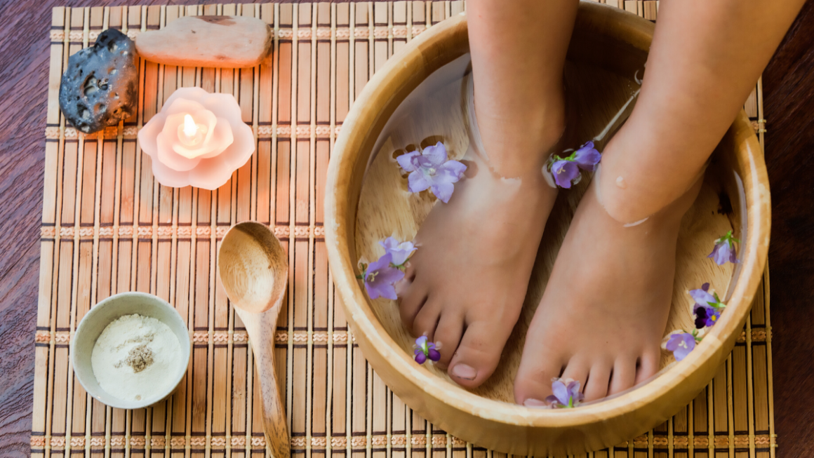 Night-Time Foot Soak To Help You Sleep