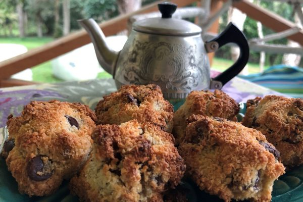 Coconut Cookies with Dark Chocolate, Figs and Walnuts – Gluten Free, Dairy Free and Can Be Sugar Free or Vegan