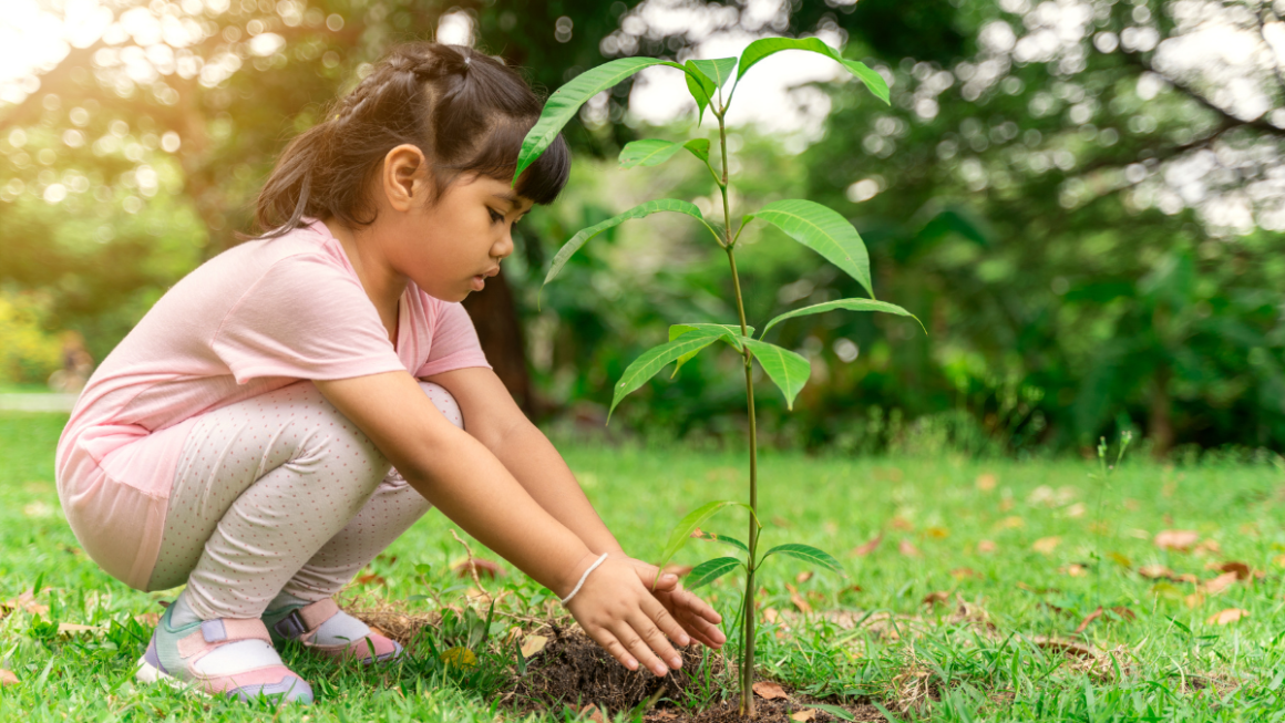 The Kid Who Would Rather Have Trees And Bees Than Toys!