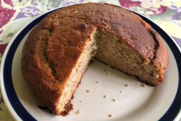 Easy Melt and Mix Banana Cake