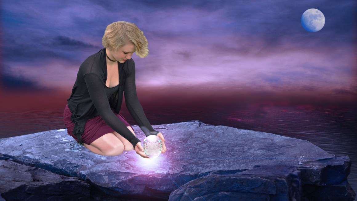 Charge Your Crystals Under The Supermoon Blood Moon Lunar Eclipse – May 26!
