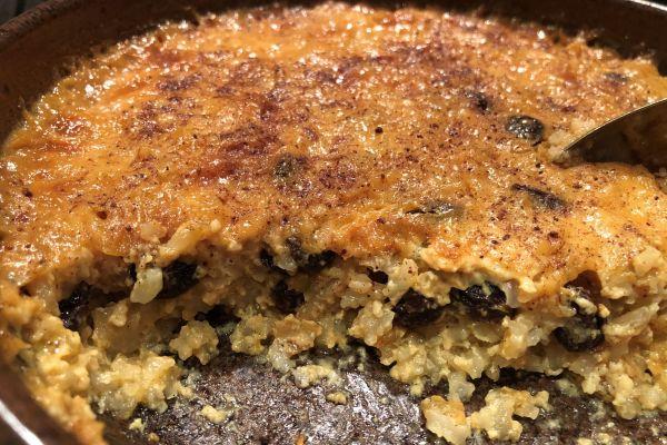 Nana's Baked Rice Pudding Recipe