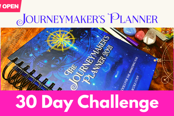 Come Join Our Free Journeymaker's Planner 30 Day Challenge!